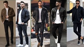 BEST JACKET OUTFITS || MENS OUTFITS || MENS FASHION