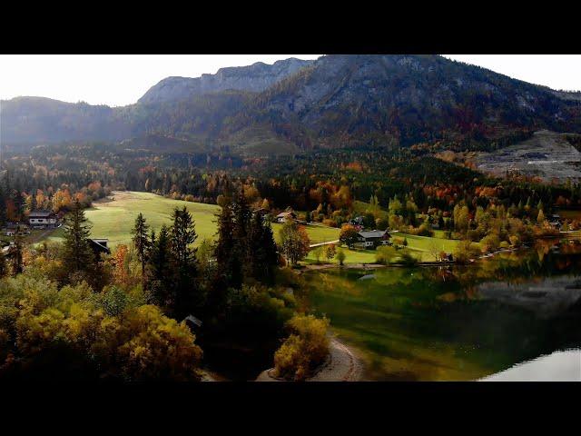 Grundlsee Drohnenclip - Urlaub im Salzkammergut