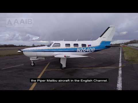 The AAIB has published a Special Bulletin on the loss of Piper Malibu aircraft N264DB.