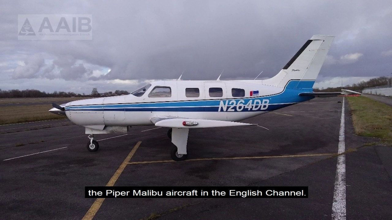 The AAIB has published a Special Bulletin on the loss of Piper Malibu  aircraft N264DB