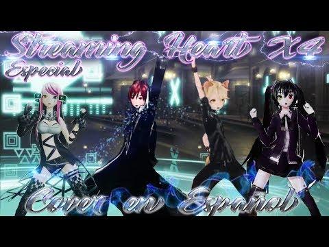 Streaming Heart X4- Especial 4k Subs (Luka, Kaito, Miku, Len) (Fandub En Español)