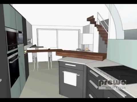Planung küchegarderobe schiebetür einbauschrank