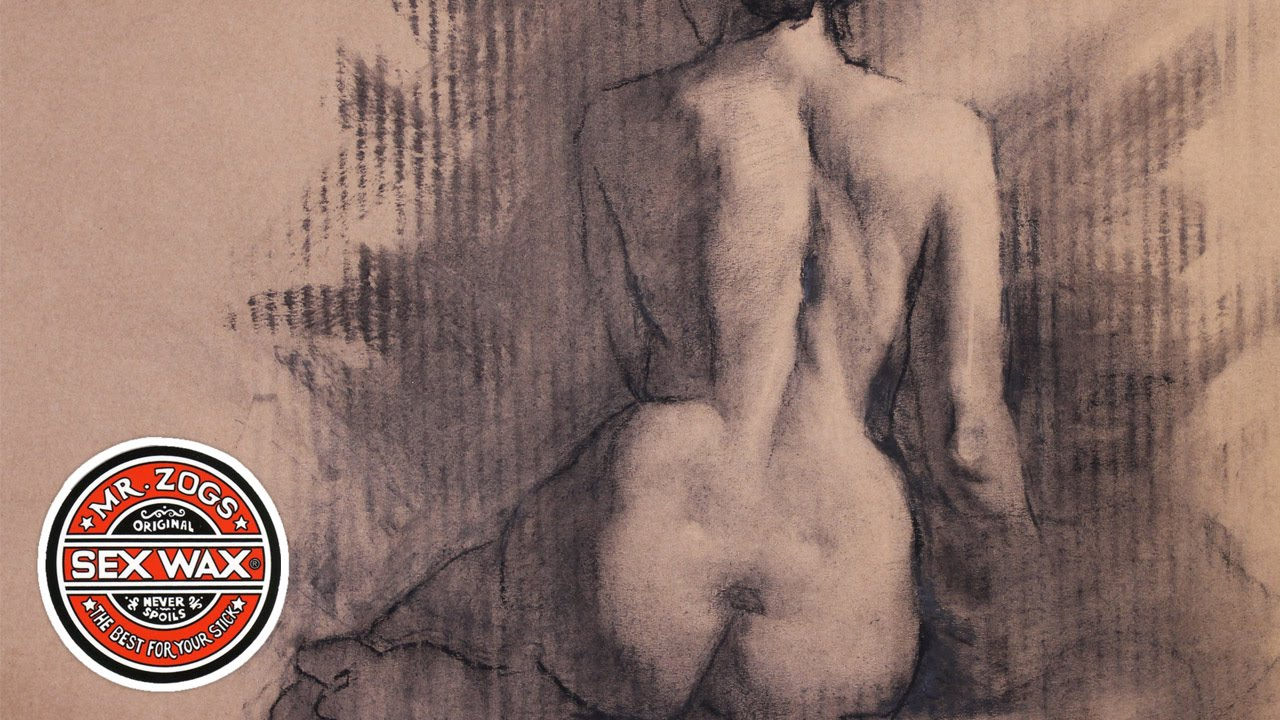 charcoal Nude figure drawing
