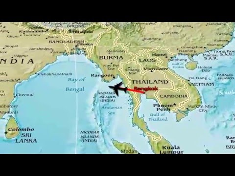 thailand animated travel map youtube