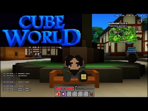 Cube World - Part 1: Terogar Racoon Punch!
