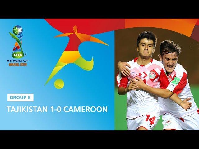Tajikistan v Cameroon Highlights - FIFA U17 World Cup 2019 ™