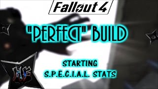 Fallout 4 Perfect Build Guide - Starting SPECIAL Stats.