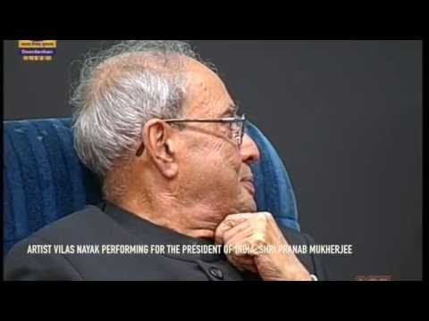 The President of India Live Art!
