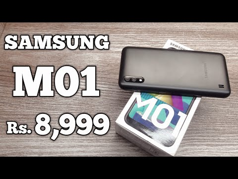 Samsung Galaxy M01 Unboxing - Should You Buy it ?