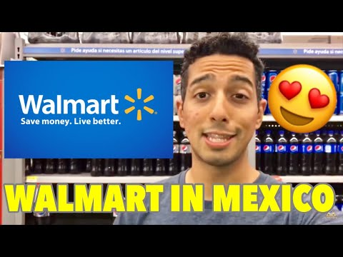 🤠SHOPPING AT WALMART IN MEXICO 🌮 BEST MEXICAN FOOD IN CANCUN 🌯