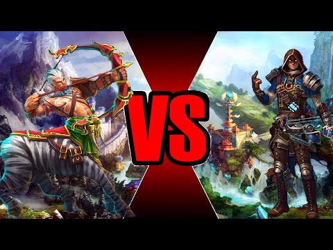 видео: Кентавр (Сила) vs Амазонка 36х36 prime world