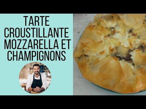 tarte-croustillante-a-la-mozzarella-et-champignons-by-cyril-lignac