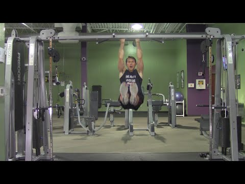 calisthenics workout in the gym  hasfit body weight