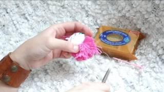 Вязание Идеальный помпон!