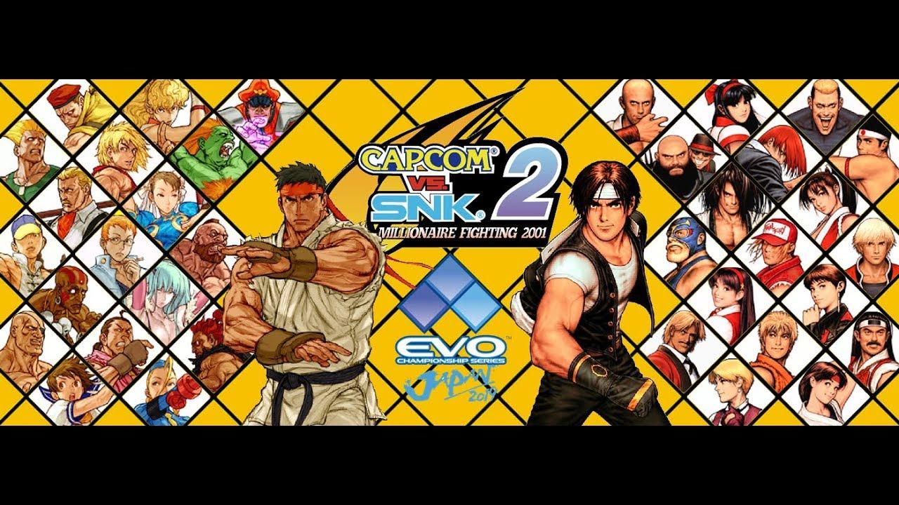 Evo Japan 2019 Capcom Vs Snk 2 Mark Of The Millennium 2001