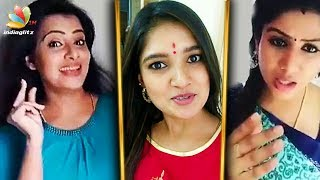 Serial Actress Atrocities Behind the Camera | Funny Videos | Vani Bhojan, Alya Manasa