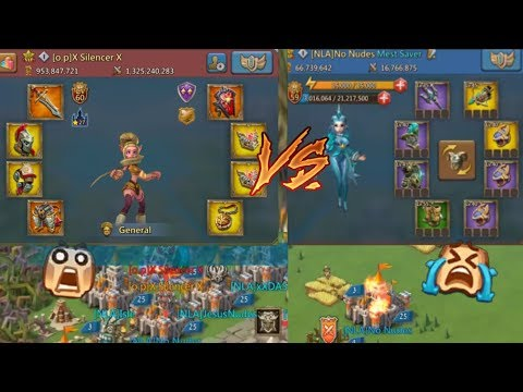 Lords Mobile Mythic Champ + 3 11k Heroes Vs Trap In Build Gear