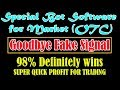 SUPER QUICK PROFIT FOR TRADING | Special Bot Software for Market (OTC) 98% Definitely wins