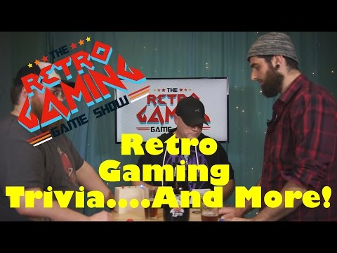 The Retro Gaming Game Show - Episode 8 - Retro Video Games Trivia N64 Wave Race & More!