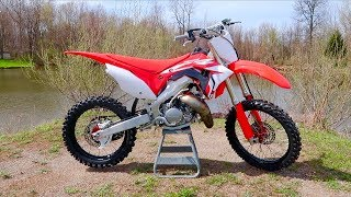 2019 CR125 REVEAL!!! $800 Two Stroke Transformation