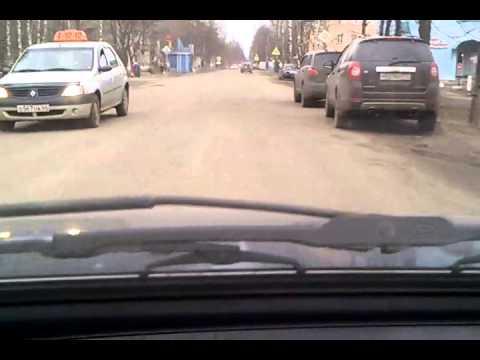 Центральная улица города Буй Костромской области