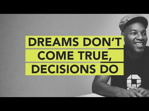 Ground Up 073 - Dreams Don't Come True, Decisions Do