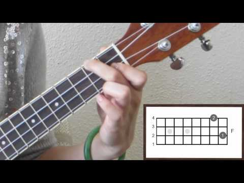 Ukulele Lesson 1 - C-Am-F-G7 Chord Progression & Basic Strum Pattern