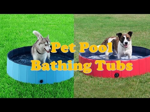 Top 5 Best Dog Pools And Pet Pool Bathing Tubs 2018
