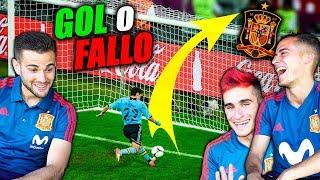 GOL O FALLO CHALLENGE ft. Lucas Vázquez x Nacho Fernández *CON CASTIGO* [SELECCIÓN ESPAÑOLA]