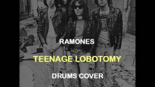 Ramones - Teenage Lobotomy (Drums Backing Track Cover)