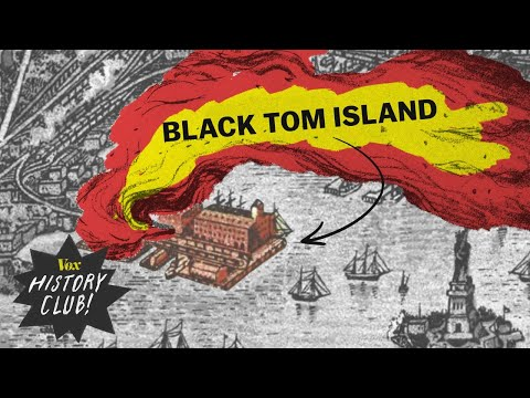 Why German spies blew up this US island