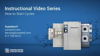 How to Start Autoclave Cycles: Gravity, Liquids, Vacuum, Bowie Dick - Advantage Series