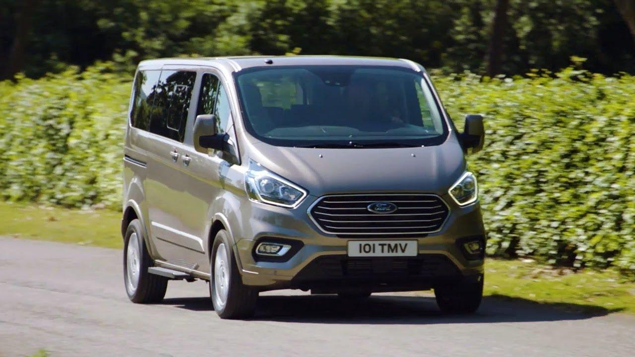 2020 Ford Tourneo Custom Plug In Hybrid Driving Scenes Youtube