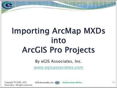 ArcGIS Pro Tips - Importing ArcMap MXD Files into ArcGIS Pro - GEO Jobe