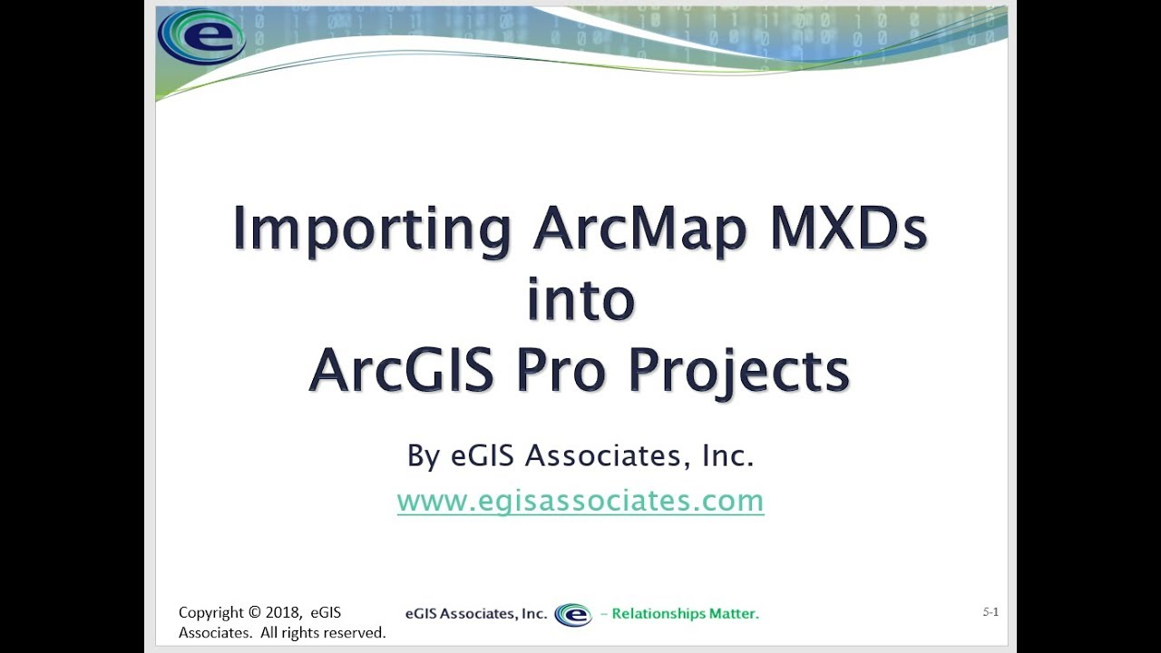 Converting ArcMap MXDs to ArcGIS Pro Projects