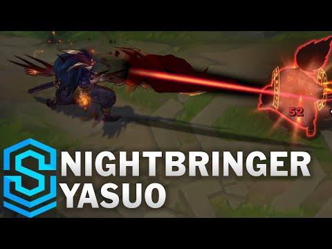 Nightbringer Yasuo Skin Spotlight - Pre-Release - League of Legends