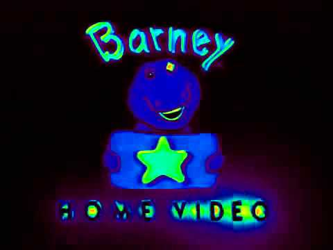 logo effects barney home video youtube rh youtube com barney home video logo byg barney home video logo 1995
