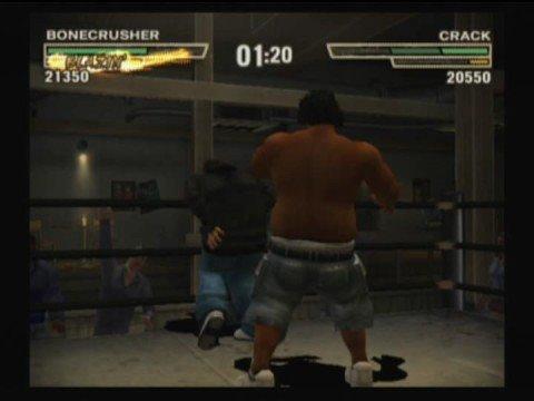 Def Jam Fight For NY Bone Crusher Vs Fat Joe As Crack