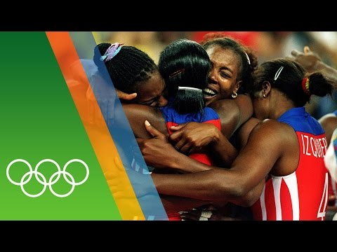 Cuba Win 3 Consecutive Volleyball Golds   Epic Olympic Moments