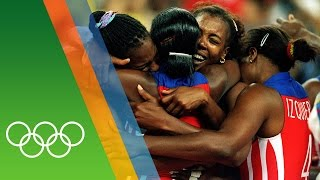 Cuba win 3 consecutive Volleyball golds | Epic Olympic Moments
