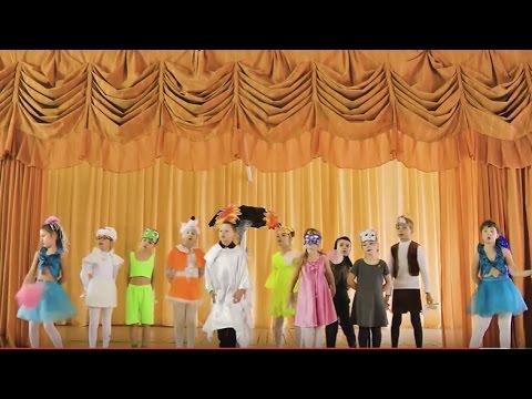 Инсценировка сказки В. Г. Сутеева Под грибом