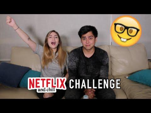 NETFLIX & CHILL CHALLENGE - #VINEVSTWITTER