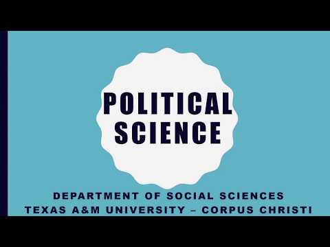TAMUCC Political Science Program - Introductory Video