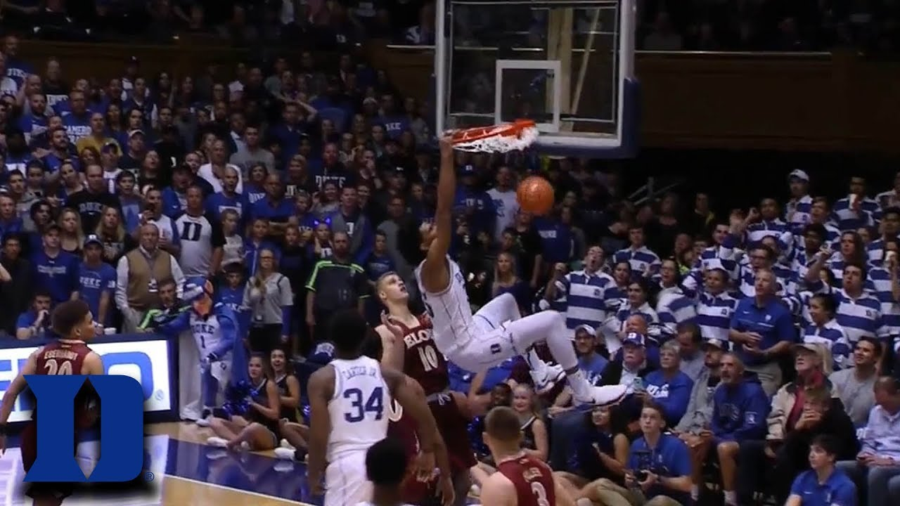 Marvin Bagley put on quite a show as Duke survived Florida State's upset bid