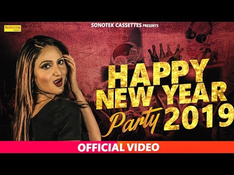 Happy New Year 2018 Paty || Miss ADA || Rahu Rock Feat Rahul Rajput || Latest Haryanvi Song 2018
