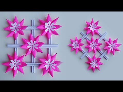 Ide Kreatif Hiasan Dinding Dari Kertas-Wall decoration ideas-Paper Craft Ideas
