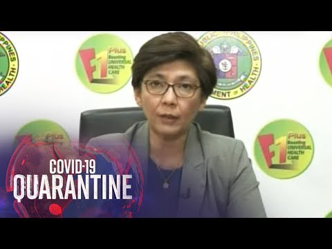 DOH Gives COVID-19 Updates (24 March 2020) | ABS-CBN News