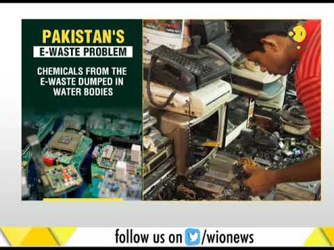 Pakistan's e-waste problem: Chemicals from e-waste dumped in water bodies
