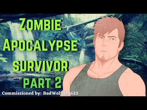 [M4A] Zombie Apocalypse Survivor part 2 - Survivor x listener - ASMR roleplay (commission)