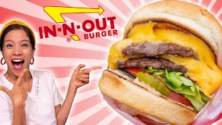 DIY Double-Double Hamburger from In-n-Out - Homemade -La Cooquette